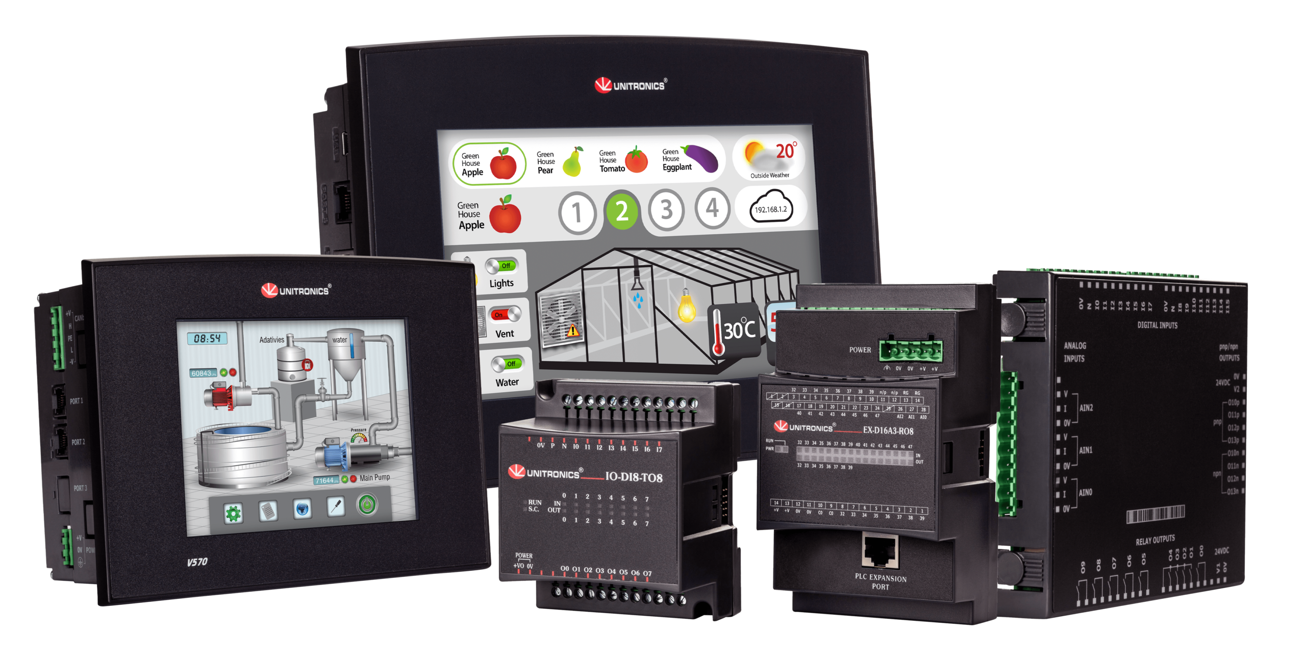 unitronics Vision All-in-One controllers