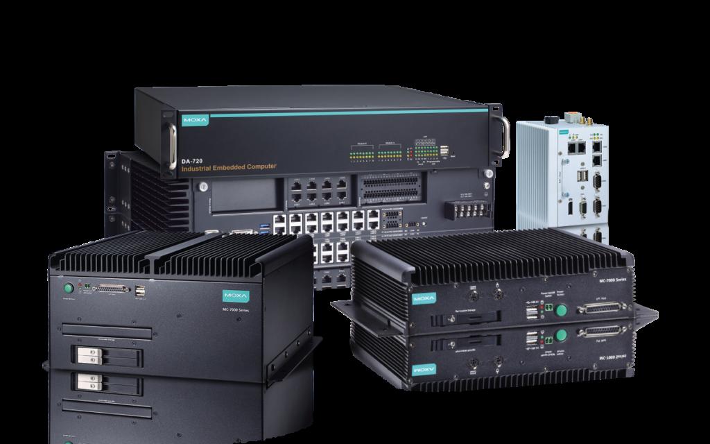 Industrial-grade, fanless x86 computers