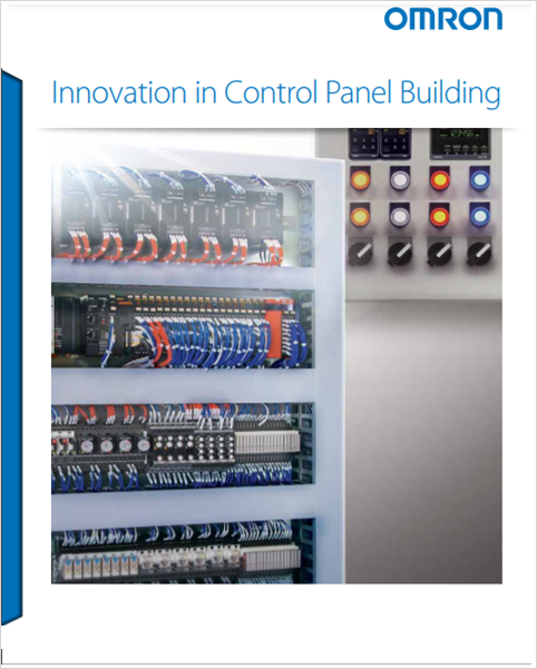 cover of Innovation in control panel building brochure