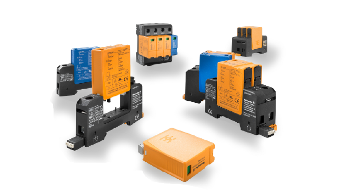 Weidmuller Surge protection family