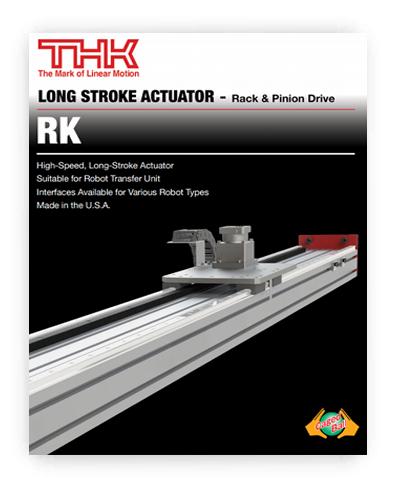 THK RK Brochure thumbnail