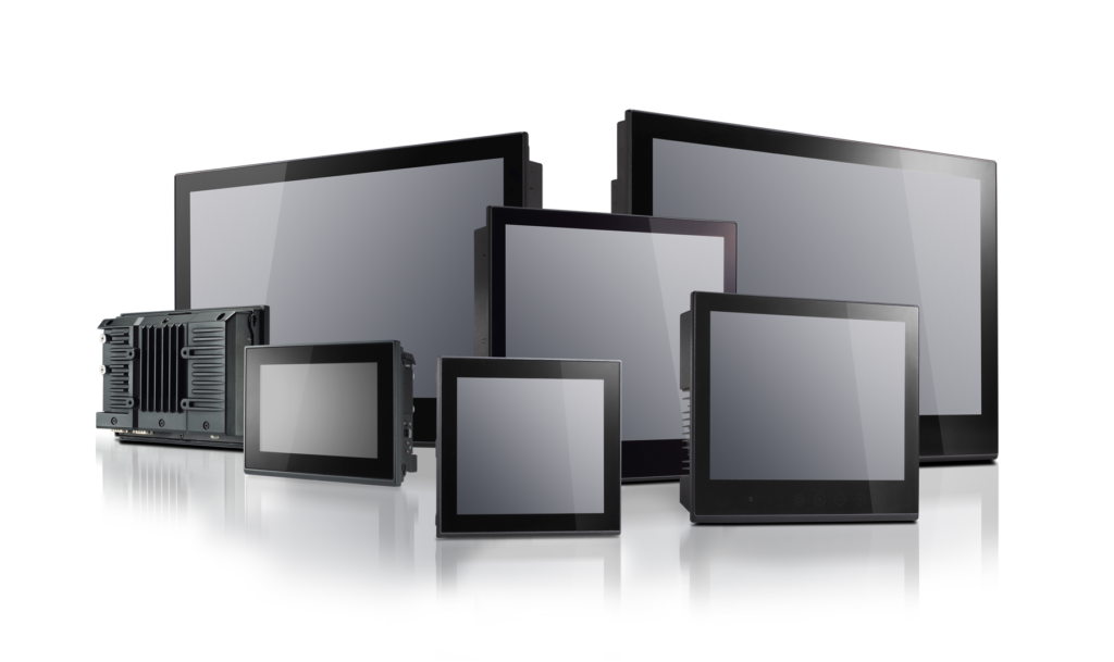 moxa panel and displays family