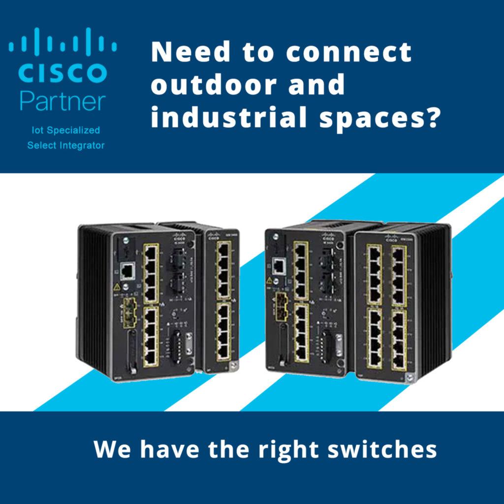 Cisco industrial switch banner