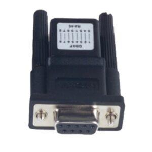 Moxa connector a-adp-rj458p-db9f-abc01